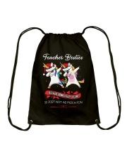 TEACHER BESTIES Drawstring Bag thumbnail