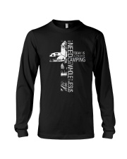 CAMPING JESUS Long Sleeve Tee tile