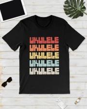 UKULELE VINTAGE Classic T-Shirt lifestyle-mens-crewneck-front-17