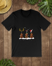 THREE CHRISTMAS UPRIGHTBASS  Classic T-Shirt lifestyle-mens-crewneck-front-18