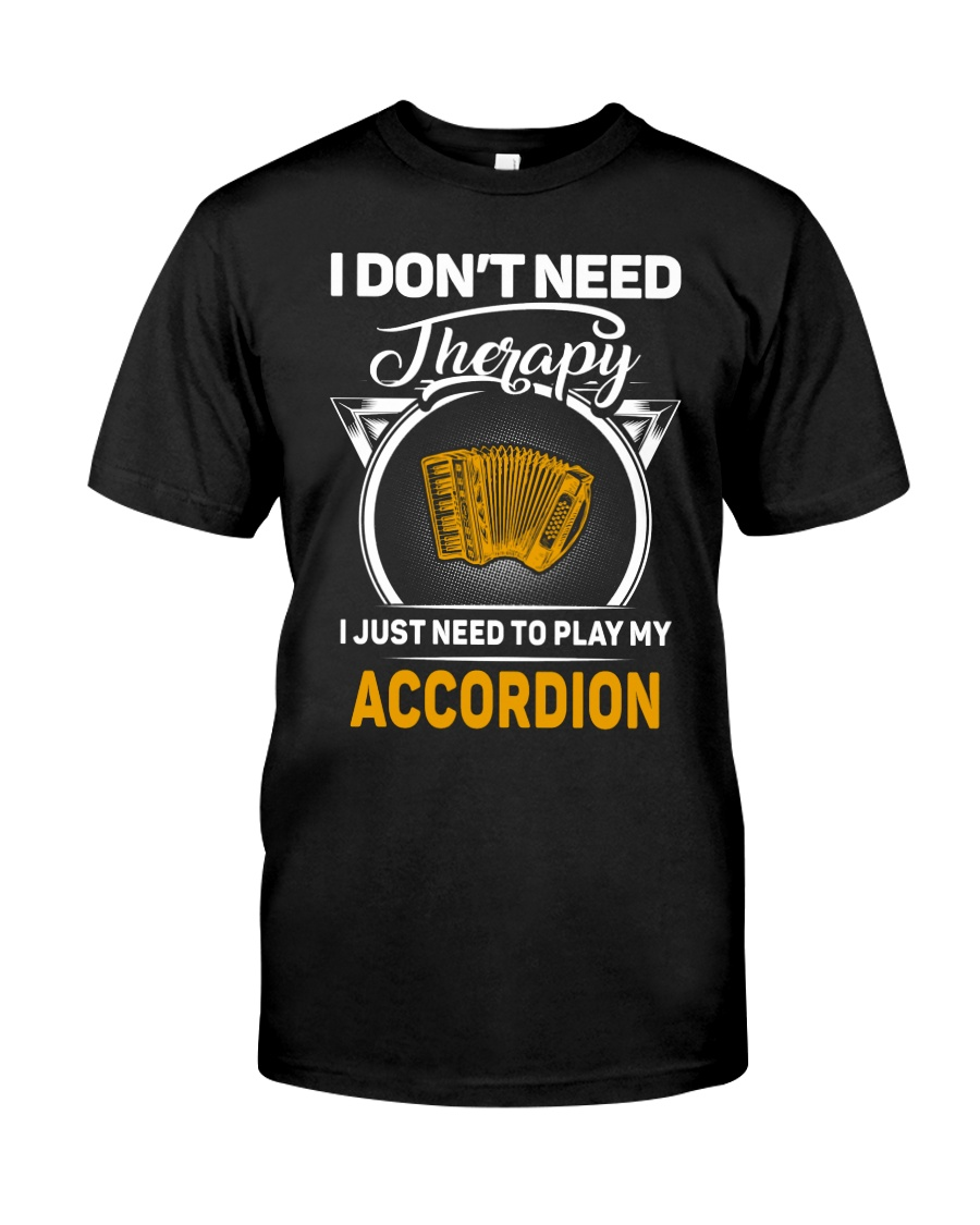 ACCORDION THERAPY Classic T-Shirt