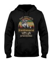 DON'T MESS WITH GRANDMASAURUS Hooded Sweatshirt thumbnail