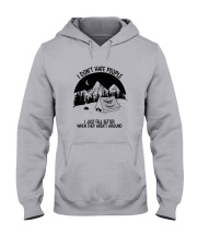CAMPING DON'T HATE PEOPLE Hooded Sweatshirt thumbnail