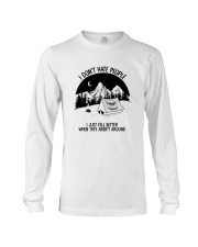 CAMPING DON'T HATE PEOPLE Long Sleeve Tee thumbnail