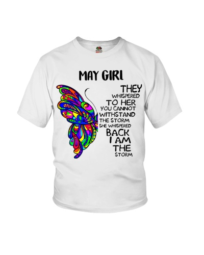 May GIRL - SHE WHISPERED BACK I AM THE STORM