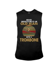 OLD MAN VINTAGE TROMBONE Sleeveless Tee thumbnail