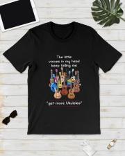 GET MORE UKULELES Classic T-Shirt lifestyle-mens-crewneck-front-17