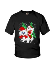 CAT SANTA Youth T-Shirt thumbnail