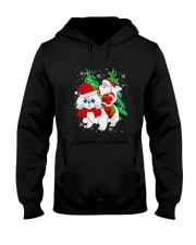 CAT SANTA Hooded Sweatshirt thumbnail