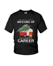 MESSING UP CAMPING Youth T-Shirt thumbnail
