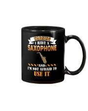 WARNING I HAVE A SAXOPHONE Mug thumbnail