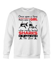 SHARK GIRL Crewneck Sweatshirt thumbnail