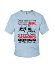 SHARK GIRL Youth T-Shirt thumbnail