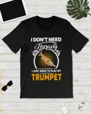 MY THERAPY TRUMPET Classic T-Shirt lifestyle-mens-crewneck-front-17