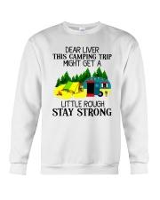 CAMPING LIVER Crewneck Sweatshirt thumbnail