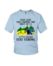 CAMPING LIVER Youth T-Shirt thumbnail