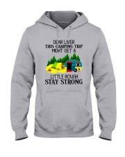 CAMPING LIVER Hooded Sweatshirt thumbnail