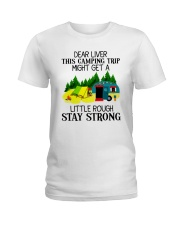 CAMPING LIVER Ladies T-Shirt front