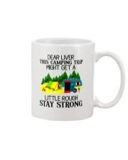 CAMPING LIVER Mug thumbnail