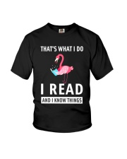 BOOK FLAMINGOS Youth T-Shirt thumbnail