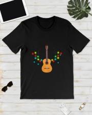 REINDEER CHRISTMAS GUITAR Classic T-Shirt lifestyle-mens-crewneck-front-17