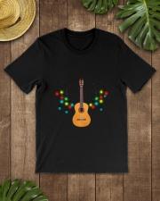 REINDEER CHRISTMAS GUITAR Classic T-Shirt lifestyle-mens-crewneck-front-18