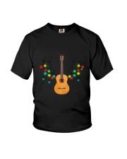 REINDEER CHRISTMAS GUITAR Youth T-Shirt thumbnail