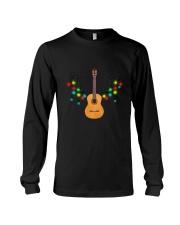 REINDEER CHRISTMAS GUITAR Long Sleeve Tee thumbnail