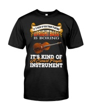 UPRIGHT BASS SMART PEOPLE INSTRUMENT Classic T-Shirt front