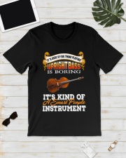 UPRIGHT BASS SMART PEOPLE INSTRUMENT Classic T-Shirt lifestyle-mens-crewneck-front-17