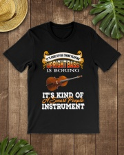 UPRIGHT BASS SMART PEOPLE INSTRUMENT Classic T-Shirt lifestyle-mens-crewneck-front-18