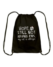 CAT CHUAN DUP Drawstring Bag thumbnail