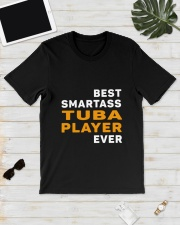 BEST SMARTASS TUBA PLAYER Classic T-Shirt lifestyle-mens-crewneck-front-17