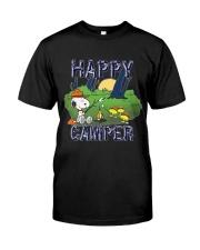 SNOOP HAPPY CAMPER Classic T-Shirt front