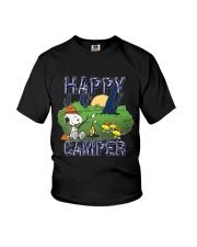 SNOOP HAPPY CAMPER Youth T-Shirt thumbnail
