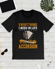 EVERYTHING I NEED IN LIFE ACCORDION Classic T-Shirt lifestyle-mens-crewneck-front-17