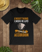 EVERYTHING I NEED IN LIFE ACCORDION Classic T-Shirt lifestyle-mens-crewneck-front-18