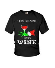 GRINCH WINE Youth T-Shirt thumbnail