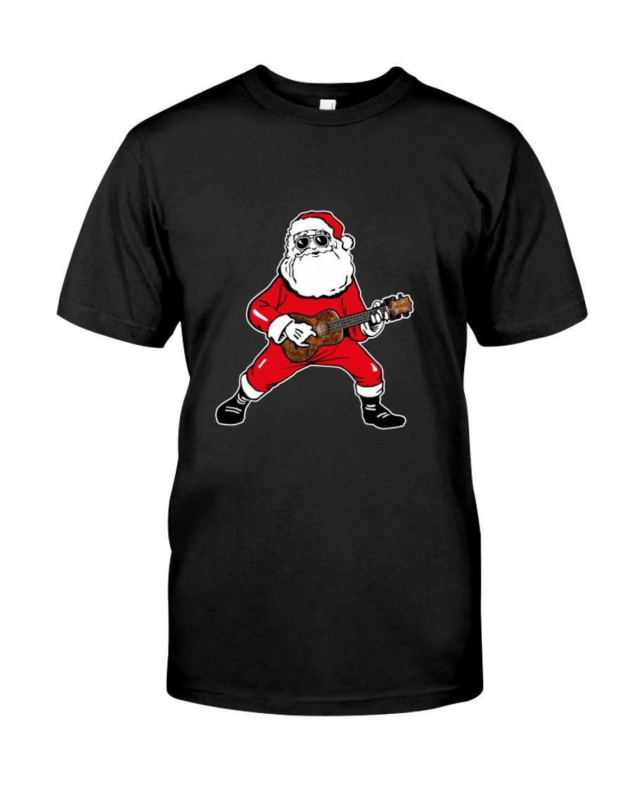 SANTA PLAY UKULELE Classic T-Shirt