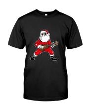 SANTA PLAY UKULELE Classic T-Shirt front