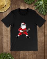 SANTA PLAY UKULELE Classic T-Shirt lifestyle-mens-crewneck-front-18