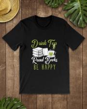 TEA BOOK HAPPY Classic T-Shirt lifestyle-mens-crewneck-front-18