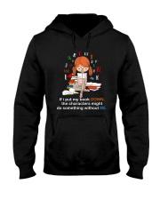 BOOK DOWN Hooded Sweatshirt thumbnail