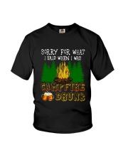 CAMPING BLACK DUP Youth T-Shirt thumbnail