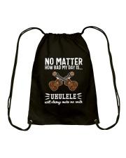 NO MATTER UKULELE Drawstring Bag thumbnail