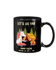 CAMPING LET GO FAR Mug thumbnail