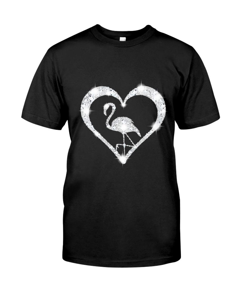 FLAMINGOS HEART Classic T-Shirt