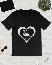 FLAMINGOS HEART Classic T-Shirt lifestyle-mens-crewneck-front-17