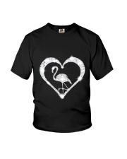 FLAMINGOS HEART Youth T-Shirt thumbnail