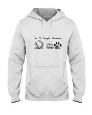 SOFTBALL COFFEE DOG Hooded Sweatshirt thumbnail